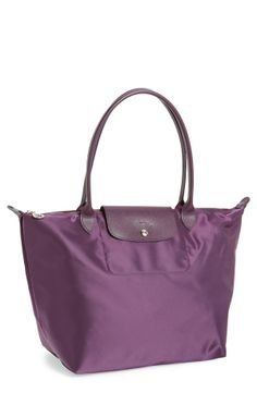 'Le Pliage - Large Neo' Nylon Tote - Billberry