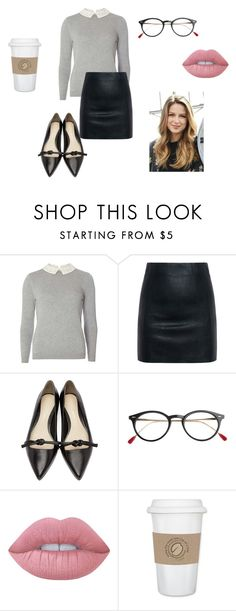 """Kara~Supergirl (request from @ecarri)"" by gravityfallsgirl33 ❤ liked on Polyvore featuring Dorothy Perkins, McQ by Alexander McQueen, 3.1 Phillip Lim, Lime Crime and WALL"