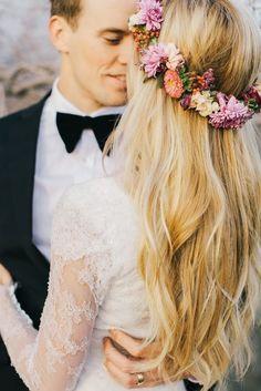Coronas de flores para novias | Moda y Tendencia 2014