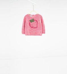 Image 1 de Pull à fraise de Zara