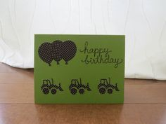 Handcrafted Cards from My Pretty Creativity www.facebook.com/MyPrettyCreativity #handcrafted #card #thankyou #boy #trucks