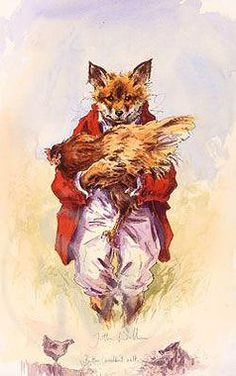 Butter Wouldn't Melt, fox limited edition print by Jonathan Walker