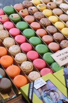 A pastry shop in Chamonix-Mont-Blanc, France.  They do seem to favor their macaroons!   ASPEN CREEK TRAVEL - karen@aspencreektravel.com