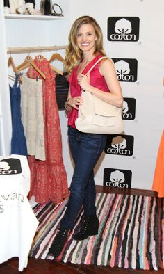 Brooke D'Orsay from Royal Pains with Michelle Vale Ligne.