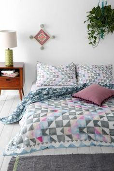 Magical Thinking Watercolor Ralli Quilt