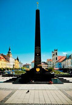 The SNP Monument, in Banska Bystrica, taken by Verity Graham.