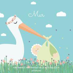 Nombres de #bebé inspirados en la #naturaleza #babynames #design #nature #baby
