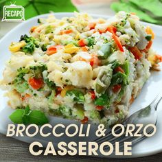 The Chew's Daphne Oz contributed an easy side dish to the show's Instant Thanksgiving episode with her Broccoli & Orzo Casserole Recipe.