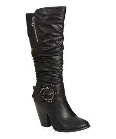 Love this Black Choic Boot on #zulily! #zulilyfinds