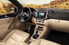New Interior View 2015 Volkswagen Tiguan