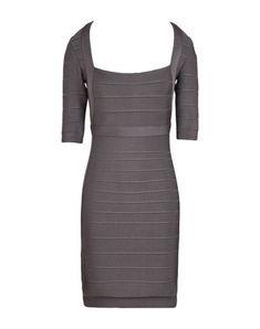 HERVÉ LÉGER BY MAX AZRIA Women's Short dress Lead XS INT