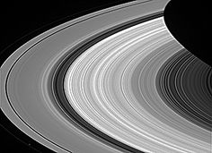 Groovy Rings of Saturn - From afar, Saturn's rings look like a solid, homogenous disk of material. But, upon closer examination from Cassini, we see that there are varied structures in the rings at almost every scale imaginable.