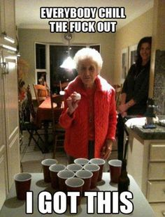 Haha, love that little old lady.. stay fly:)