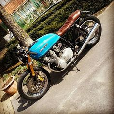 #caferacer #suzuki #gs750 #1977 #buildnotbought