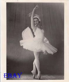 Maya Plisetskaya as Princesses Odette and Odile in White Swan Lake Princesses