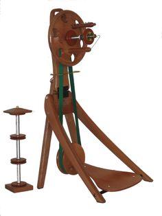 The Ettrick Windwheel - unique portable design from a Tasmanian wheel maker.
