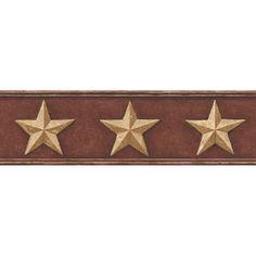 Tin Star Wallpaper Border