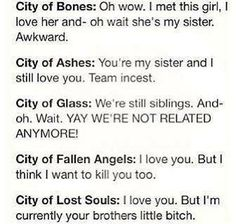 The Mortal Instruments - Books - Jace and Clary