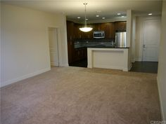 Brand new carpet and new paint. 2 bedrooms and 2 bathrooms on opposite ends with high ceilings and walk-in closets.