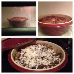 Pampered Chef German Chocolate Lava Cake in Round Covered Baker.in the microwave! Chocolate Lava Cake, German Chocolate, Crockpot Deserts, Baker Recipes, Lava Cakes, Pampered Chef, Betty Crocker, Microwave, Oatmeal