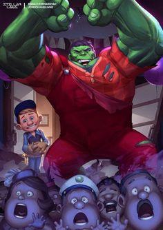 Wreck it Hulk!