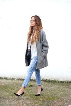grey coat | stellawantstodie