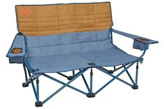 Kelty Low Loveseat Camping Chair – Portable, Folding Chair for Festivals, Camping and Beach Days - Updated 2019 Model Camping Table, Camping Chairs, Camping Ideas, Camping Stuff, Love Chair, Love Seat, Cuddle Couch, Outdoor Chairs, Outdoor Furniture