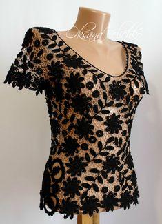 Irish Crochet, Crochet Motif, Crochet Lace, Crochet Patterns, Needle Lace, Diy And Crafts, Cute Outfits, Pasta, Formal Dresses