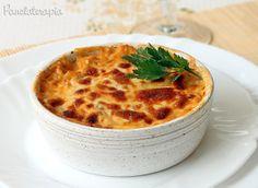 PANELATERAPIA - Blog de Culinária, Gastronomia e Receitas: Lasanha de Bacalhau com Batatas