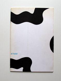 Al Held, catalogue for Stedelijk Museum, design Wim Crouwel / 1966