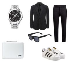 """""""Untitled #6"""" by samed-skrebo ❤ liked on Polyvore featuring Alexander McQueen, Marni, TAG Heuer, NIKE, Lacoste and adidas Originals"""