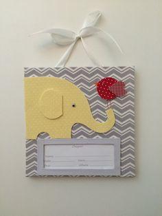 Porta de Maternidade - Elefantinho