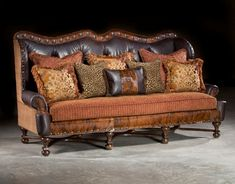 Western Sofa|Rustic Sofa|Hacienda Sofa|Large Sofa|Anteks Home Furnishings