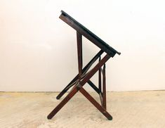 Vintage Drafting Table Designs: A Company Working Out the Details - Sewing Craft Table, Vintage Drafting Table, Drinks Tray, Lunch Table, Art Stand, Table Designs, Farms Living, Desk Ideas, Phone Holder