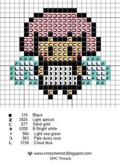 Blog with cross stitch patterns