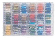 Buy DMC Thread Storage Box Online at www.sewandso.co.uk