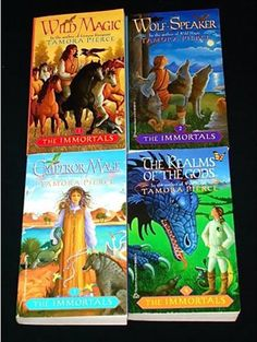 The Immortals series by Tamora Pierce - Veralidaine is one of my favorite young female characters out there.