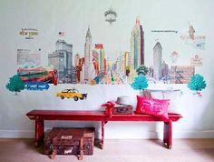 Murales estilo vintage de Room Seven, Coordonné