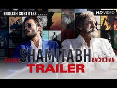 Shamitabh has a doubly dramatic act - but less emotion