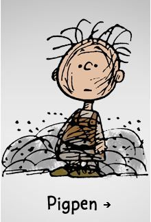 Snoopy & Charlie Brown: Pigpen
