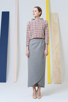 See the complete Rosie Assoulin Fall 2014 Ready-to-Wear collection.