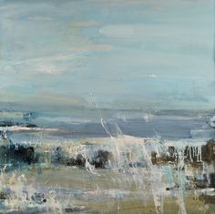 Hannah Woodman,' Summer Waves on Gwithian Beach',2011,Oil on Board,£4,450