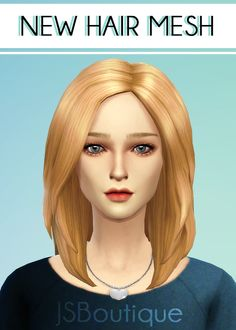 ** STATUS tested, great - JSBoutique — Hair #1 [Comes in all the default EA hair colors]