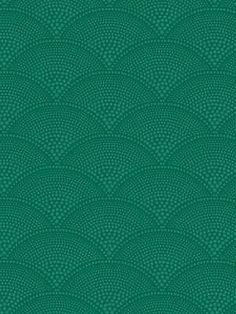 DecoratorsBest - Detail1 - CS 89/4017 - FEATHER FAN-EMERALD - Wallpaper - DecoratorsBest