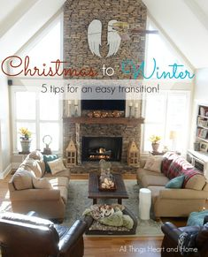 From Christmas to Winter Five Tips for an Easy Transition - All Things Heart and Home