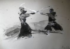 From The Art of Kendo by Alicja Cioch via Behance