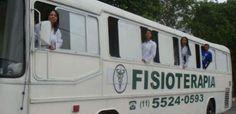 Clínica de fisioterapia móvel em ônibus já atendeu mais de 70 mil pacientes de baixa renda