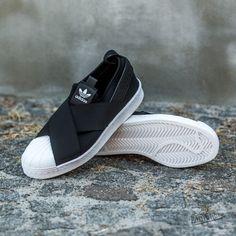 622eba8fc3a7 adidas Superstar Slip On W Black  Ftw White