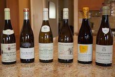 We blind taste six White Burgundy wines