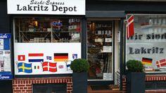 Lakritz-Depot in Hamburg, Hamburg